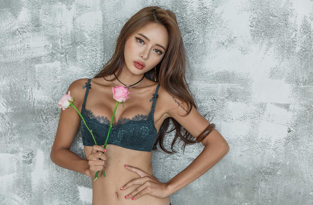 Korean Model Kim Bo Ram in Lingerie Set August 2017 Lingerie Korean Pictures Korea Kim Bo Ram Fashion 2017
