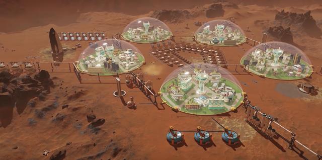 Ya disponible Surviving Mars