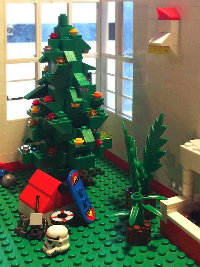 YOLOLOS EL RBOL DE NAVIDAD DE LEGO