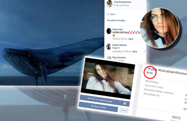 Resultado de imagem para jogo baleia azul suicida