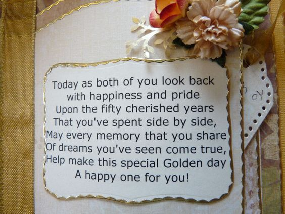golden-anniversary greetings
