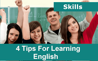 4 Tips For Learning English