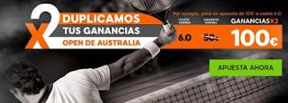 888sport duplica tus ganancias Open de Australia + 150 euros 16-29 enero