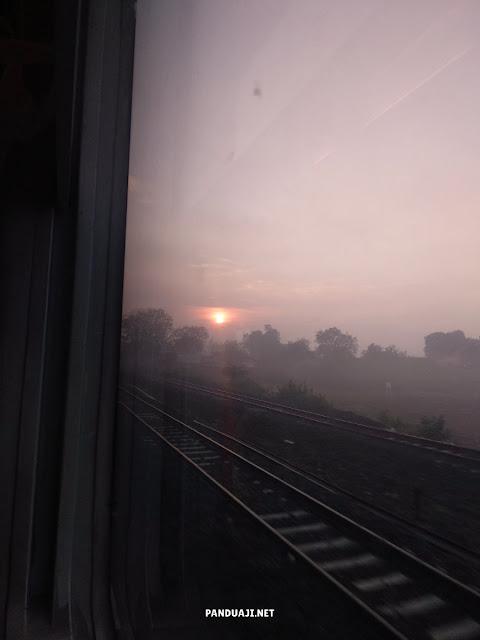 Sunrise di KA Gajayana