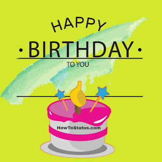 Happy Birthday Status in Hindi 2018 wish