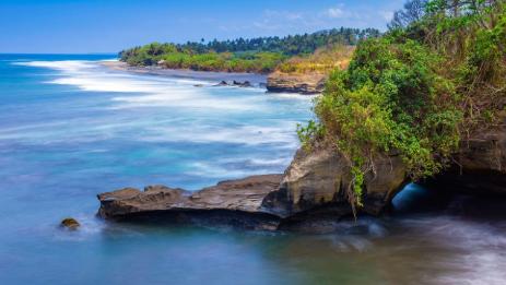 The beach Balian