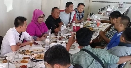 Ketua DPRD Kota Padang Janji Perjuangkan Aspirasi Wartawan