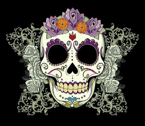 Misguided Ghost: Sugar Skulls
