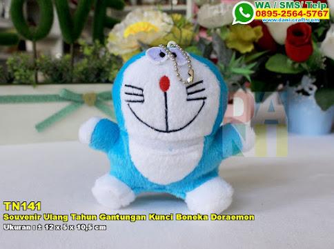 Souvenir Ulang Tahun Gantungan Kunci Boneka Doraemon