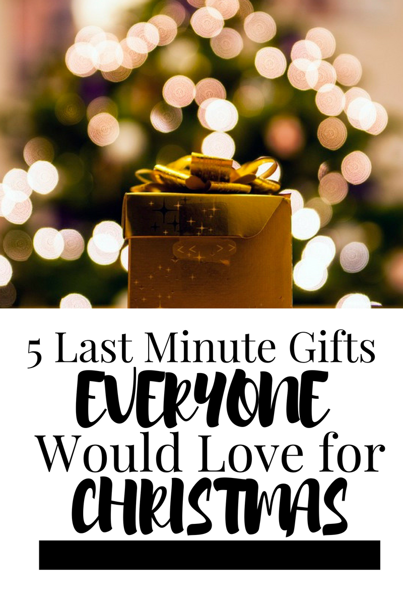 5 last minute gifts everyone would love for christmas