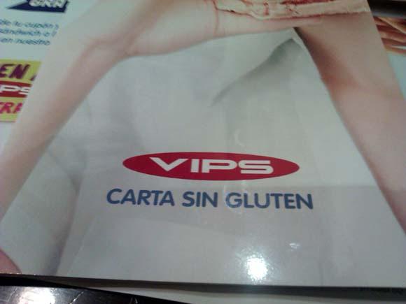 Ginos y Vips sin gluten