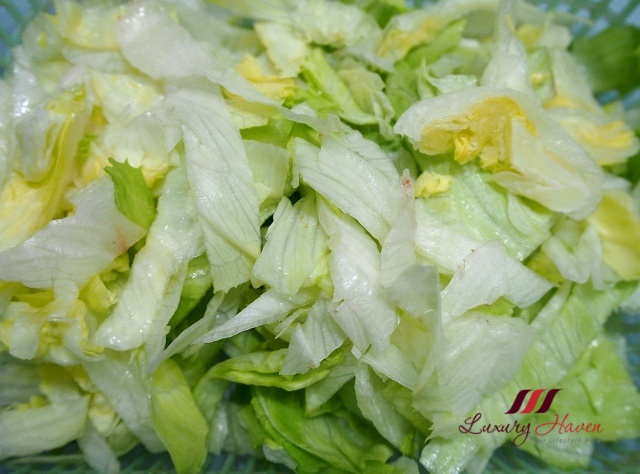 refreshing iceberg lettuce recipe