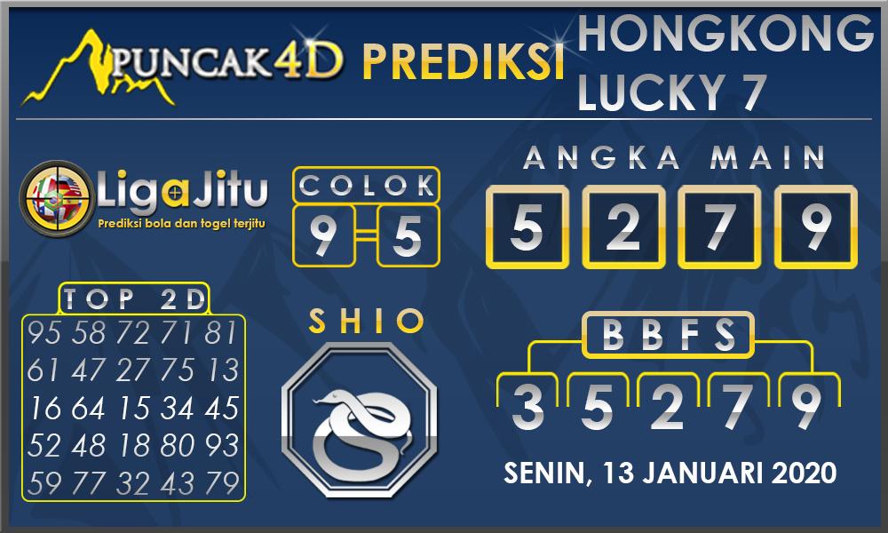 PREDIKSI TOGEL HONGKONG LUCKY7 PUNCAK4D 13 JANUARI 2020