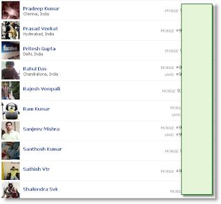 طريقة معرفة رقم الهاتف لأي  صديق على الفيسبوك