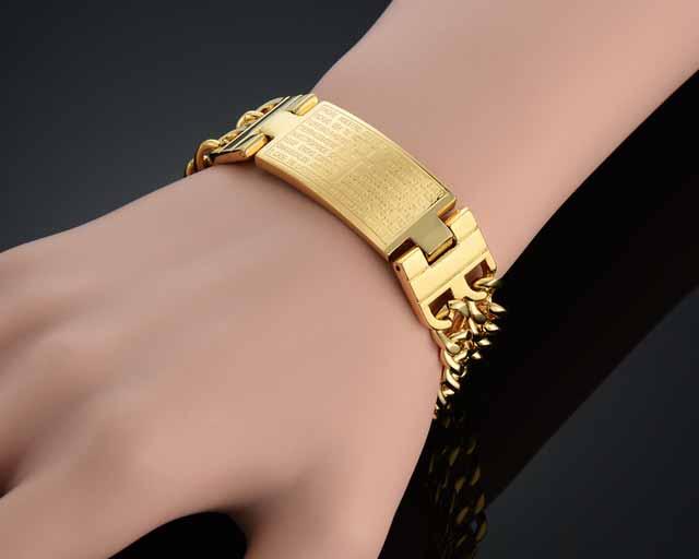 model gelang emas murni
