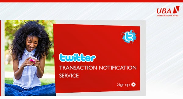 How to receive UBA twitter notifications