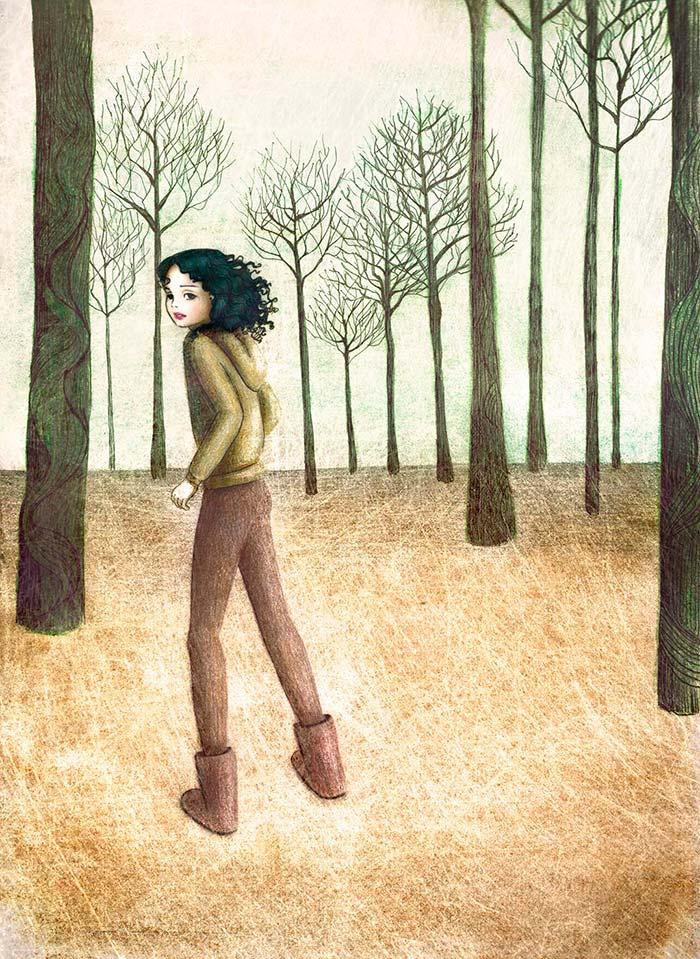 Ilustración, Ágata de Nashely Lascano