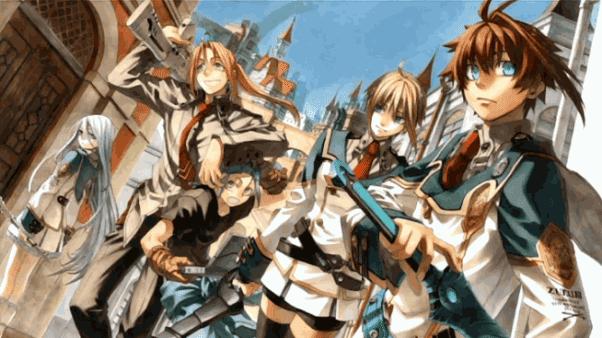 Chrome Shelled Regios - Anime Action Fantasy Terbaik dan Terseru
