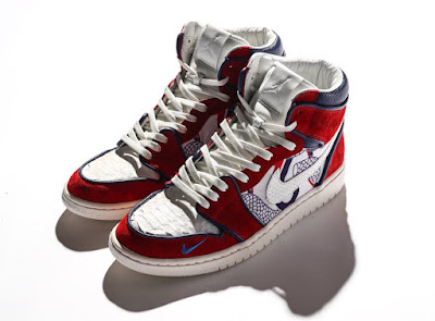 """new product 9017c fa393 To celebrate the last game of the regular season, the Philadelphia 76ers  have teamed up with UBIQ for an exclusive """"Phila Unite"""" Air Jordan 1, ..."""