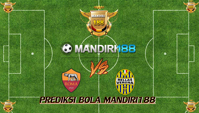 AGEN BOLA - Prediksi AS Roma vs Hellas Verona 17 September 2017