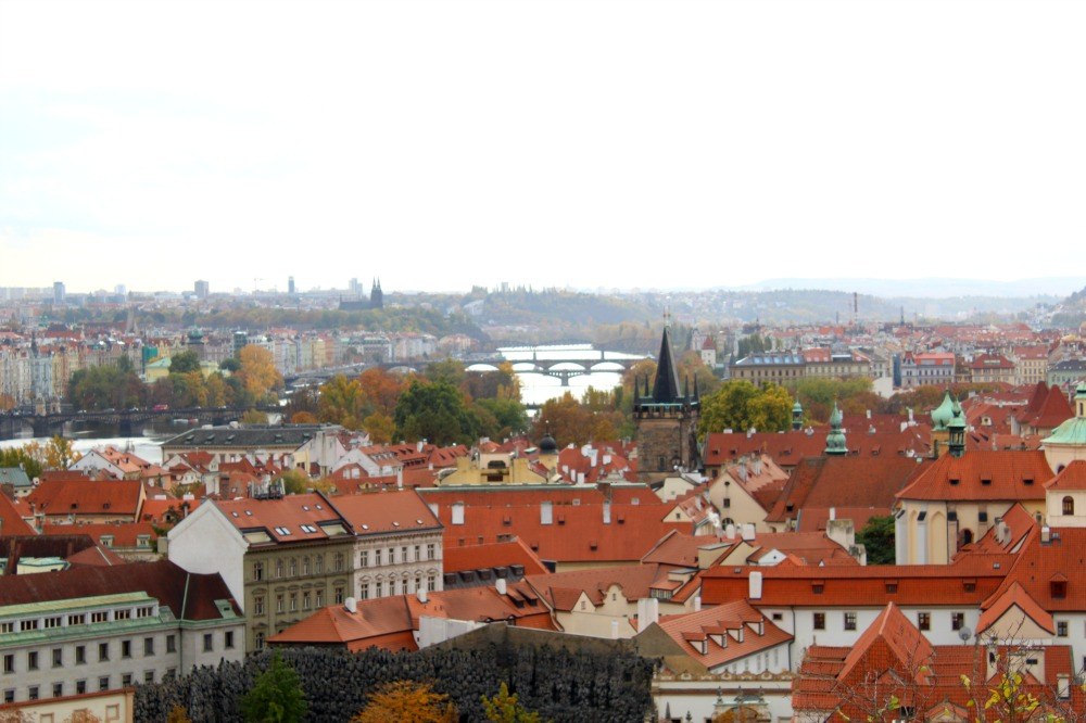 view from prague