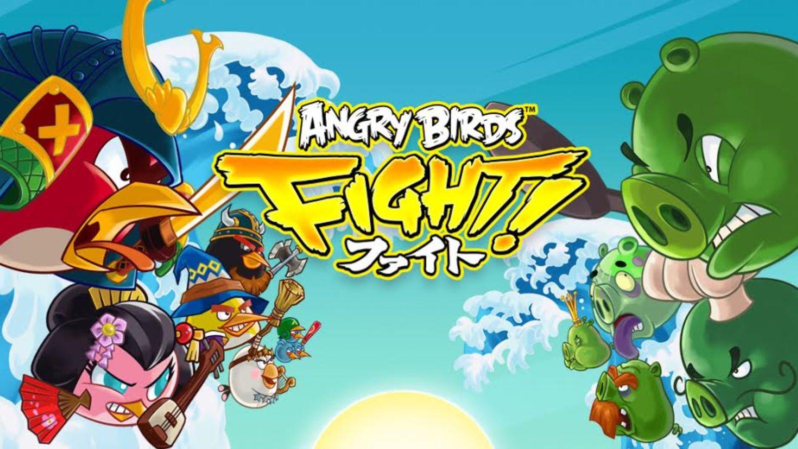 لعبه Angry Birds Fight! v2.4.0 مهكره جاهزه