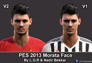 Face Alvaro Morata 2016 Pes 2013