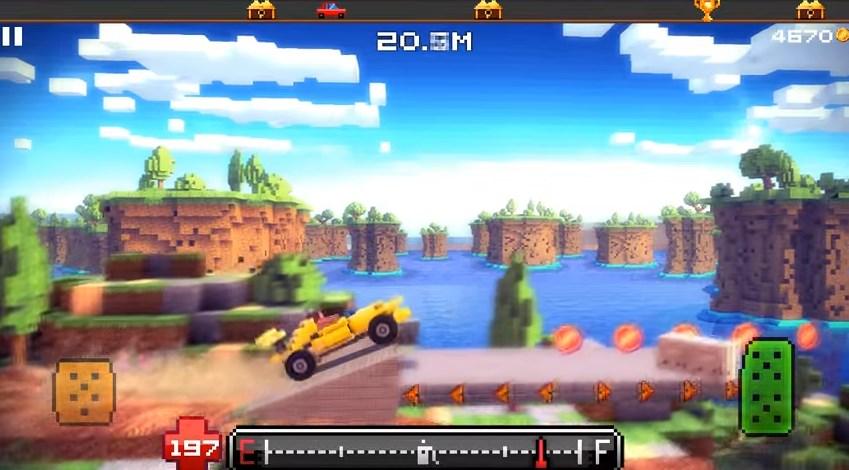 Download Game Blocky Roads Mod Apk Terbaru Android