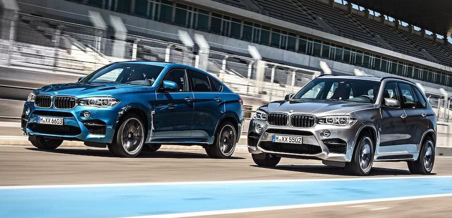 BMW X5M、X6M・0-100km/hの加速:4.2秒