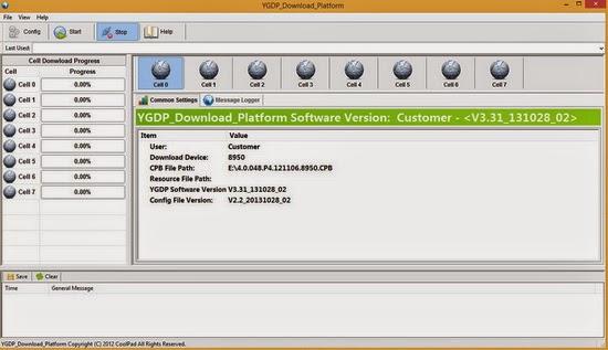 Download Coolpad YGDP Download Platform v3 31 ~ flash rom