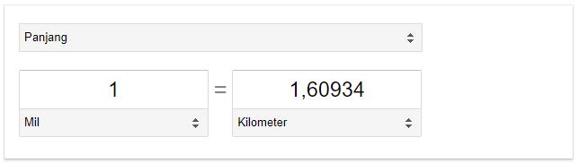 Mil dan kilometer adalah salah satu dari satuan ukuran panjang 1 Mil Berapa km? Berikut Jawaban Lengkap dan Contohnya