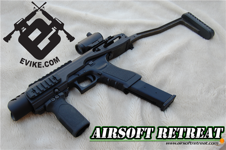 AABB Glock KOO Carbine Kit and 50 Round Extended Magazine