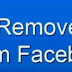 How Do I Remove A Friend From Facebook