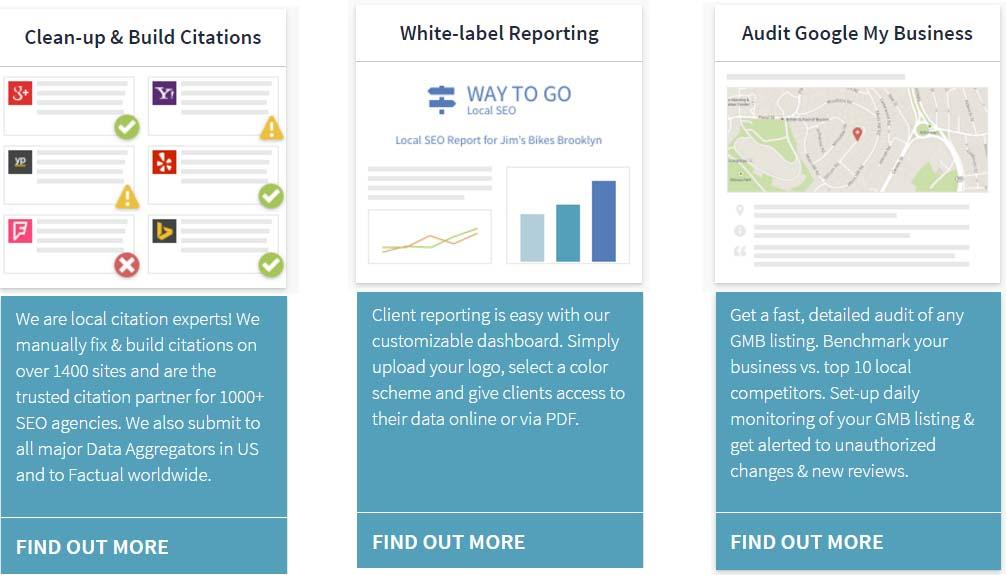 white label reporting brightlocal