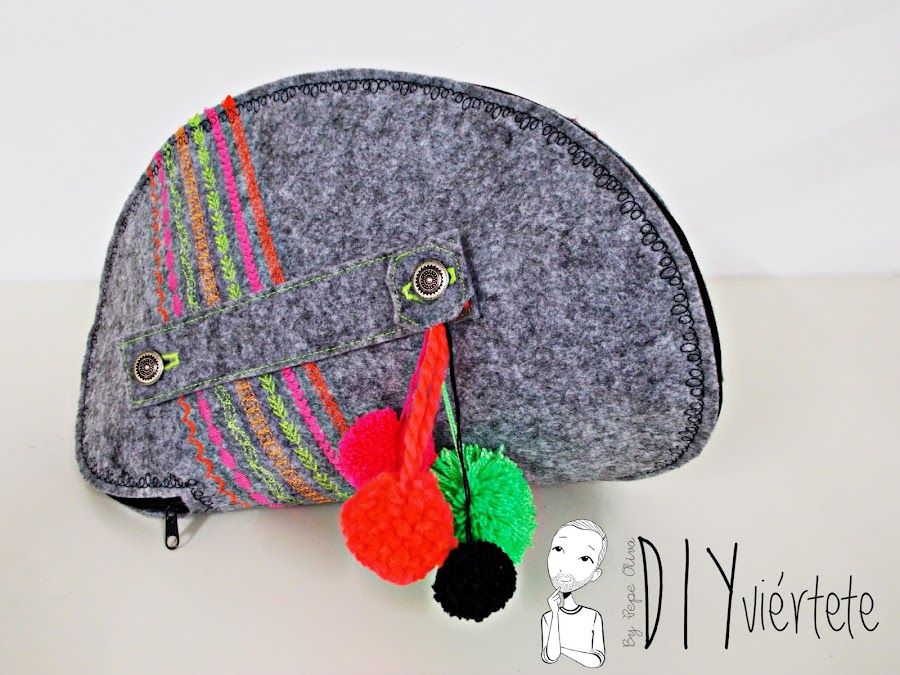 DIY-bolso-cartera-clutch-fieltro-fluor-pompones-puntadas-alfa-historiashiladas-costura-diseño-handbox-1