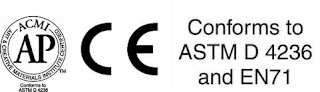 CE, ASTM to ACMI seals