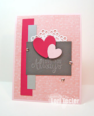 Love You Always card-designed by Lori Tecler/Inking Aloud-stamps and dies from Reverse Confetti