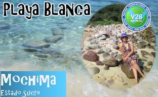 imagen playa blanca mochima