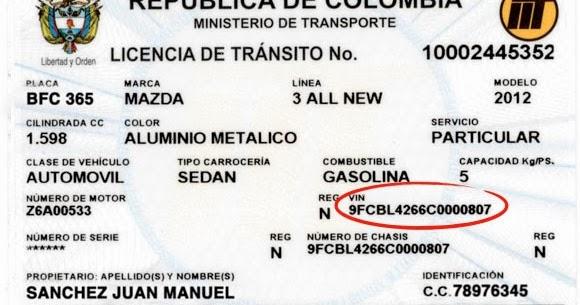 El Abc Del Conductor Documentacion De Vehiculos En Colombia