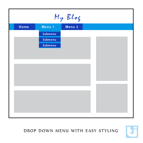 Tutes Inside- Make Drop Down Menu In Blogger