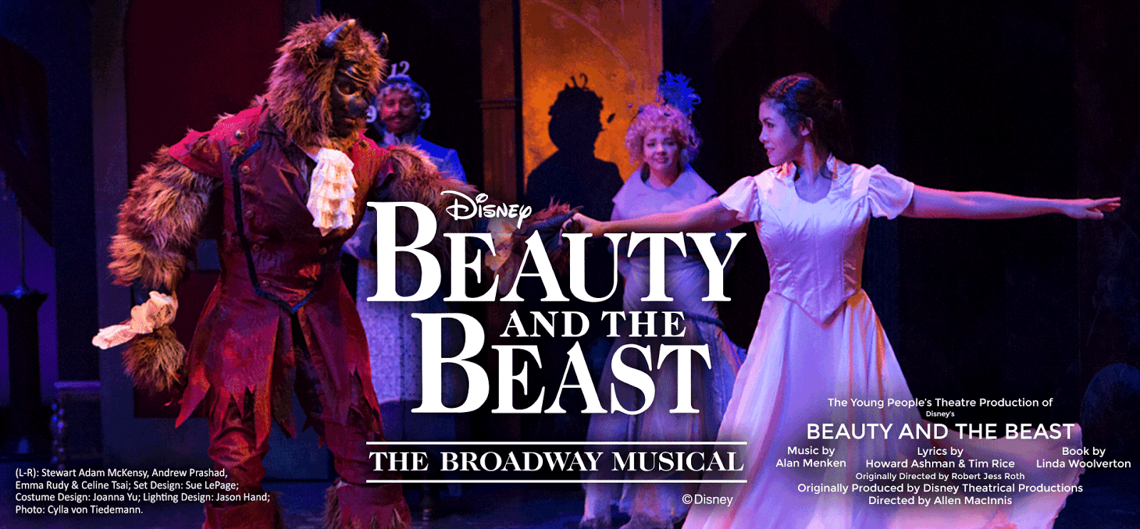 Family FREE Stream Disney's Beauty and the Beast Musical