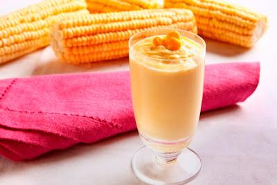 Receita de sobremesa de milho verde