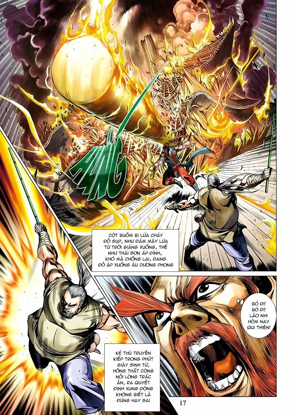 Anh Hùng Xạ Điêu anh hùng xạ đêu chap 53: lâm nguy thụ mệnh đả cẩu học pháp trang 18