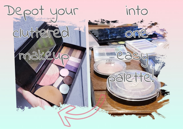 depot makeup into palette