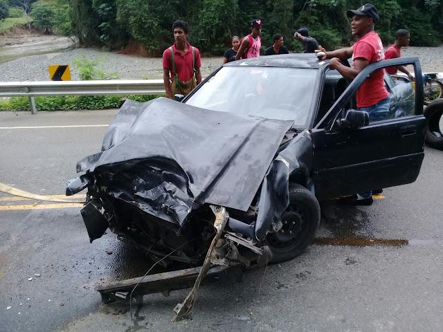 MAIMÓN: CONTINÚAN LOS ACCIDENTE EN EL TRAMO LOMA MALA--DETALLES AQUI