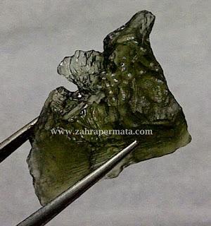 Batu Permata Moldavite - ZP 292