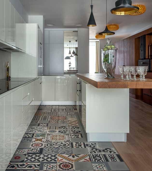 10 ideas para poner una alfombra vin lica en la cocina for Alfombra vinilo cocina
