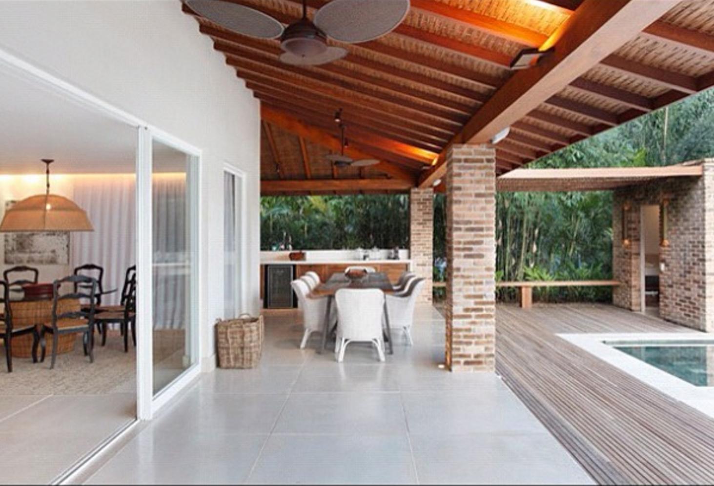 101 planos de casas caracter sticas de una casa en la playa - Iluminacion para casa ...