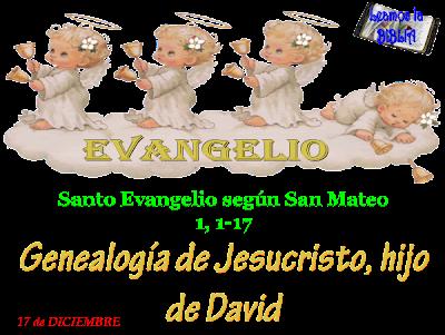 """Resultado de imagen para El es el """"hijo de David y el hijo de Abrahán"""""""