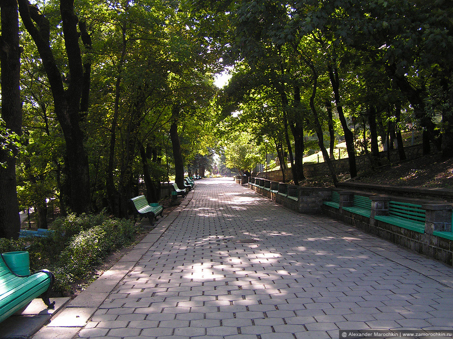 Железноводск. Парковая аллея